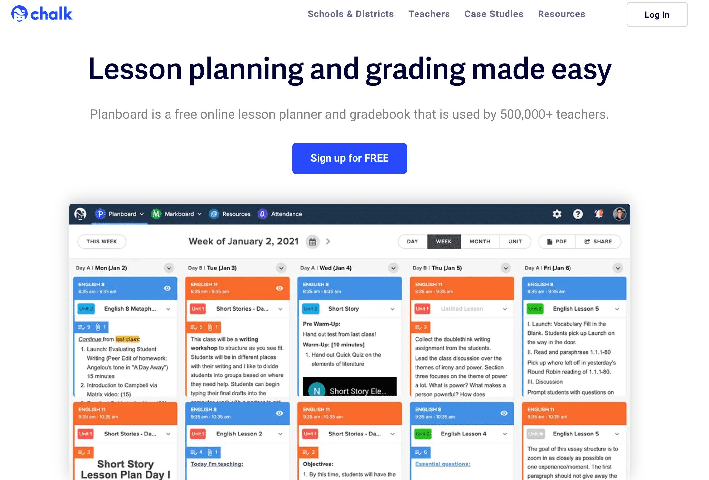 educational planboard